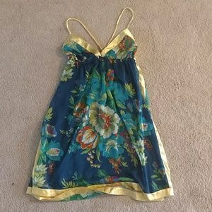 Floral beach dress from California